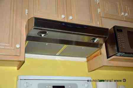Comment enlever une ancienne hotte de cuisine ?