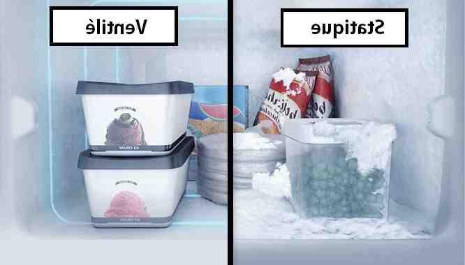 Quelle est la différence entre Froid brasse et froid ventilé ?